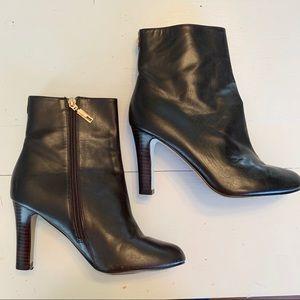 "Ivanka Trump Brown Leather Boots ""Darbi"" 7.5 M"